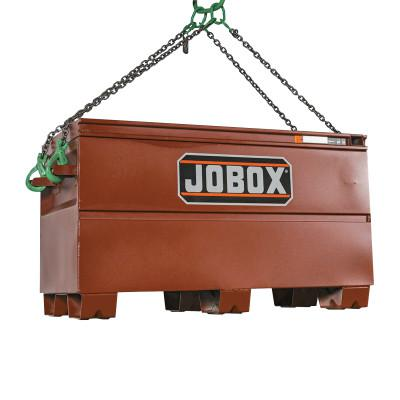 JOBOX Heavy-Duty Lifting Chests, 48 in x 24 in x 27 3/4 in, Brown