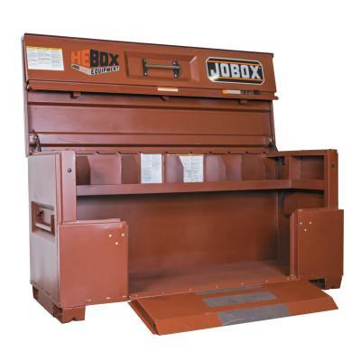 JOBOX Heavy Equipment Boxes, 70 in x 31 in x 38 in, Brown