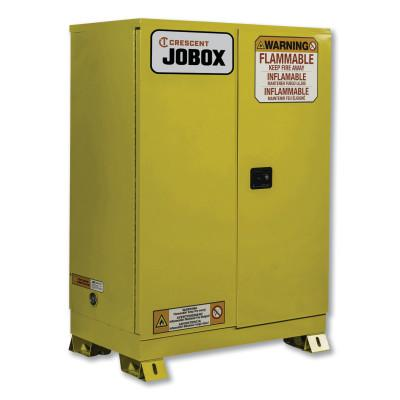 JOBOX 60 Gallon Flammable Manual Close Safety Cabinet - Yellow