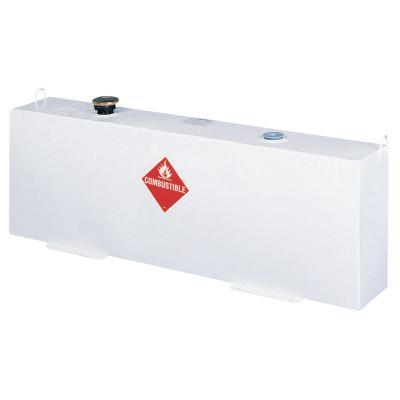 JOBOX Liquid Transfer Tanks, Vertical, 37 gal to 42 gal, Steel, White
