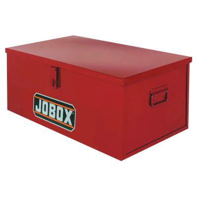 JOBOX Heavy-Duty Chests, 30 in X 16 in X 12 in, Rust