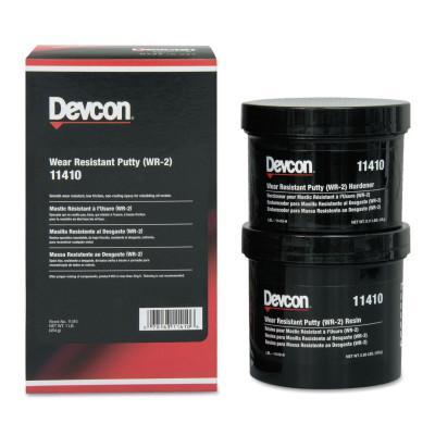 DEVCON Wear Resistant Putty WR-2, 1 lb, Dark Gray