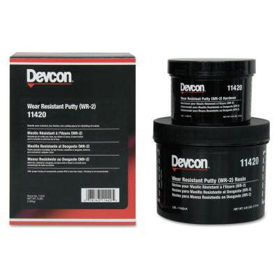 DEVCON Wear Resistant Putty WR-2, 3 lb, Dark Gray