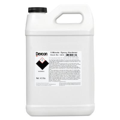 DEVCON 2 Ton Clear Epoxy, 9 lb Cartridge, Clear/White