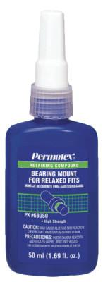 PERMATEX Bearing Mount for Relaxed Fit, 50 mL Bottle, Green, 3,800 psi
