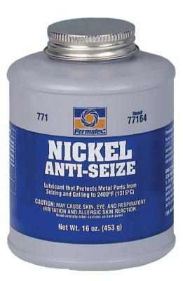 PERMATEX Nickel Anti-Seize Lubricants, 16 oz Brush Top Bottle