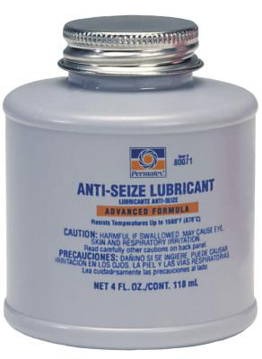 PERMATEX Anti-Seize Lubricants, 4 oz Brush Top Bottle
