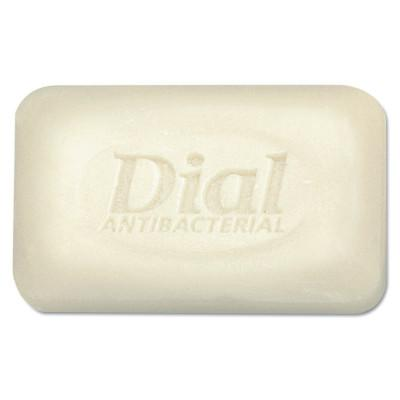 DIAL Antibacterial Deodorant Bar Soap, Unwrapped, White, 2.5oz