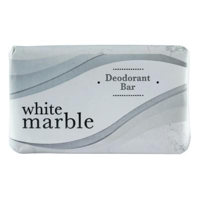 DIAL AMENITIES Individually Wrapped Deodorant Bar Soap, White, 2.5oz Bar