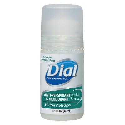 DIAL Anti-Perspirant Deodorant, Crystal Breeze, 1.5oz, Roll-On