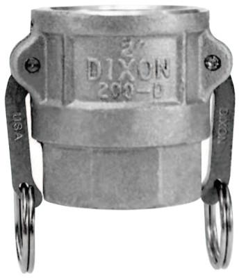DIXON VALVE Andrews Type D Cam and Groove Couplers, 1 in (NPT), Female