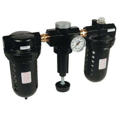 DIXON VALVE 1 in Wilkerson Jumbo Combination Unit, 150 psig, Glass, 1 in