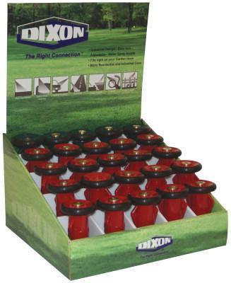 DIXON VALVE Polycarbonate Fire Hose Nozzles, Counter Display
