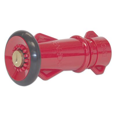 DIXON VALVE Polycarbonate Fire Hose Nozzles, Straight, 25.1 CFM at 100 psi, 3/4 Thread