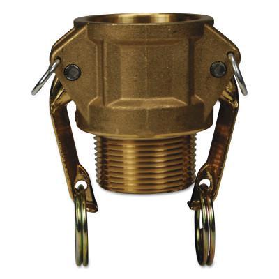 DIXON VALVE Global Type B Couplers, 1 1/2 in (NPT), Brass
