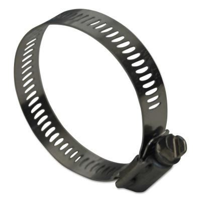 """DIXON VALVE HSS Series Worm Gear Clamps, 9/16""""-1 1/16"""" Hose OD, Stainless Steel 300"""