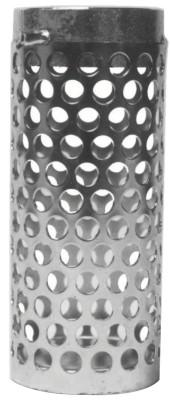 DIXON VALVE Threaded Long Thin Round Hole Strainers, 3 in Inlet