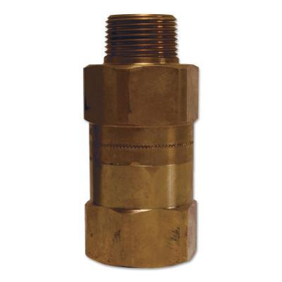 DIXON VALVE Safety Shut-Off Valves, 3/4 in (NPT) Inlet, Male, Brass