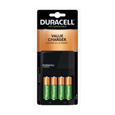 DURACELL ION SPEED™ 1000 Advanced Charger, AA and AAA Batteries
