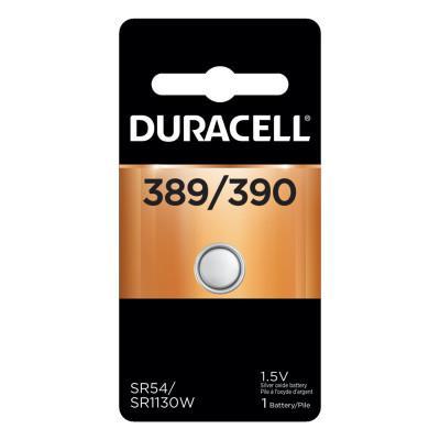 DURACELL Watch/Electronic Battery, 1.5V, Silver Oxide, 1 EA/PK