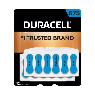 DURACELL Button Cell Hearing Aid Battery #675