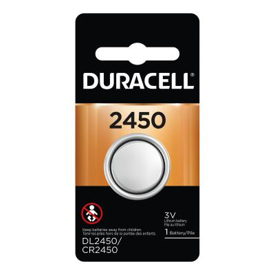 DURACELL Lithium Battery, Coin Cell, 3V, 2450, (1 EA/PK) 36 Bulk Pack