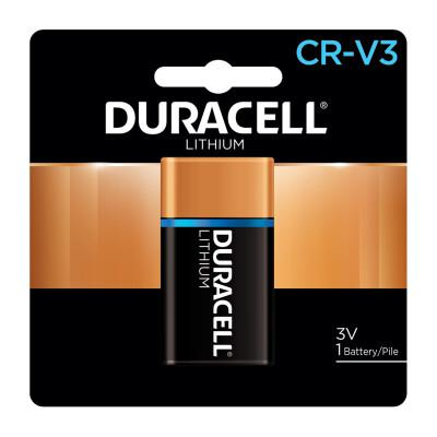 DURACELL Ultra High Power Lithium Battery, CRV3, 3V