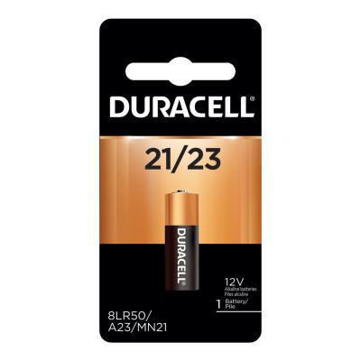 DURACELL Keyless Entry Battery, 12V Alkaline, 1 EA/PK