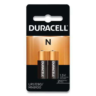 DURACELL N Size Alkaline Battery, 2 EA/PK