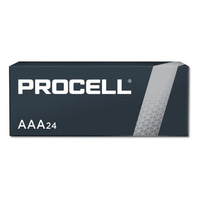 DURACELL Procell Battery, Non-Rechargeable Alkaline, 1.5 V, AAA