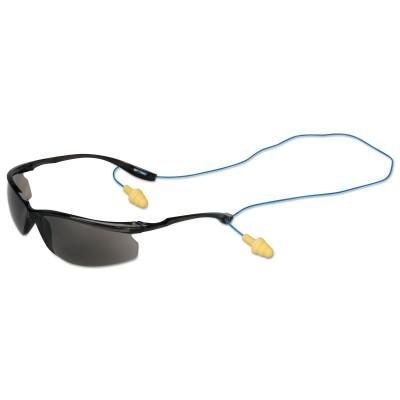 SAFEWAZE Virtua Sport CCS Safety Eyewear, Gray Lens, Polycarbonate, Hard Coat, Frame