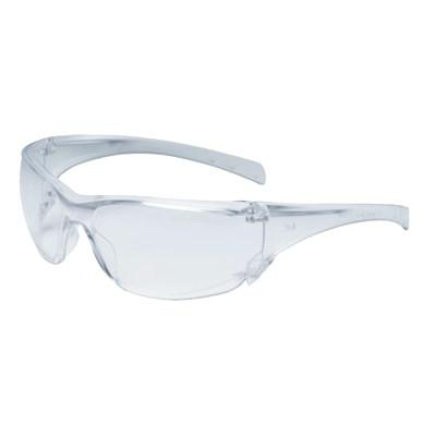 AO SAFETY Virtua Safety Eyewear, Clear Lens, Anti-Fog, Hard Coat, Clear Frame