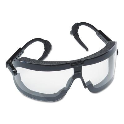 AO SAFETY Fectoggles Impact Goggles, Large, Clear/Black, Adjustable Temples