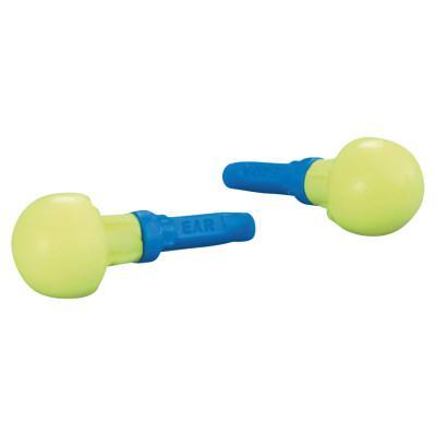 EAR E-A-R Push-Ins Foam Earplugs, Polyurethane, Blue/Yellow, Corded