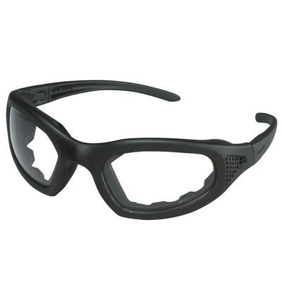 AO SAFETY Maxim Safety Goggle 2x2, Clr Anti-Fog Lens, Blk Frame, Side Venting