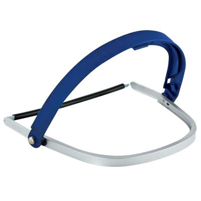 SAFEWAZE Headgear For Hard Hat H24M, Aluminum, Blue