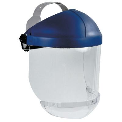 AO SAFETY Ratchet Headgear, Head and Face Protection, with Clear Chin Protector