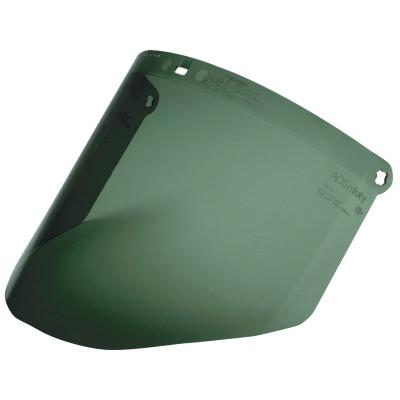 3M OH&ESD Dark Green Polycarbonate Faceshield WP96, Molded