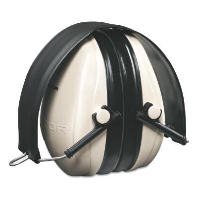 PELTOR Optime 95 Earmuffs, 21 dB NRR, White/Black, Over the head