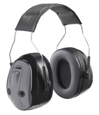 PELTOR Peltor PTL Earmuffs, 26 dB, Gray, Over-the-Head Earmuff