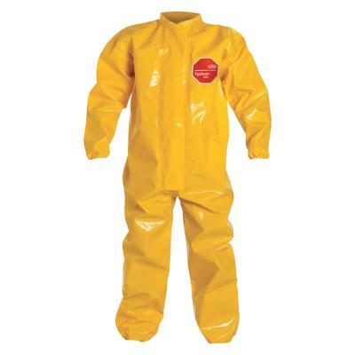 DUPONT Tychem BR Coveralls with Elastic Wrist and Ankles, , 5X-Large