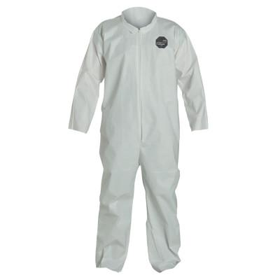 DUPONT ProShield NexGen Coveralls, White, X-Large, With Collar