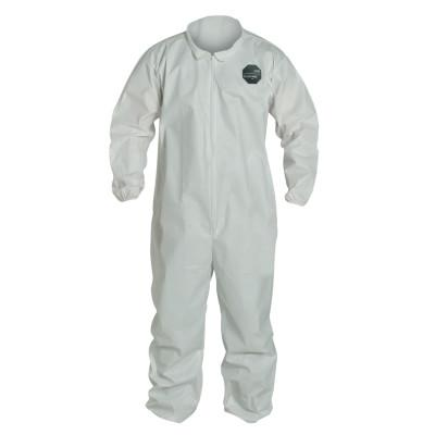 DUPONT ProShield NexGen Coveralls with Elastic Wrists and Ankles, White, 3X-Large