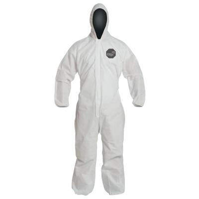 DUPONT Proshield 10 Coveralls White with Attached Hood, White, 3X-Large