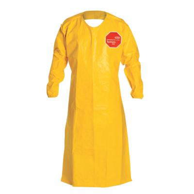 DUPONT Tychem QC Apron with Long Sleeves One Size, Yellow