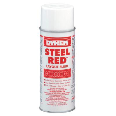 DYKEM Layout Fluids, 16 oz Aerosol Can, Red
