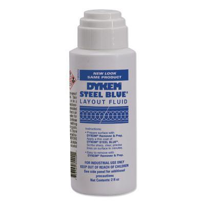 DYKEM Layout Fluids, 2 oz Felt Tip, Blue