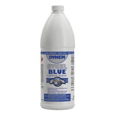 DYKEM Layout Fluid, 930 mL Bottle, Blue