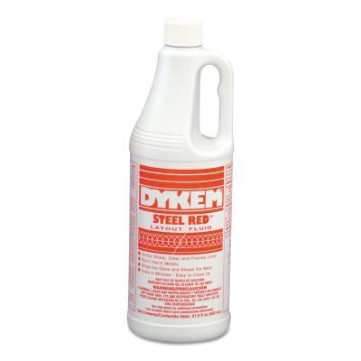 DYKEM Layout Fluids, 930 mL Bottle, Red