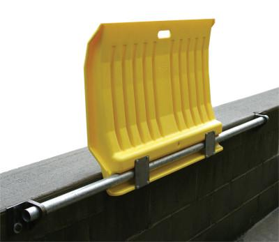 EAGLE MFG 00225 FIXED POLY DOCKPLATE FOR HAND TRUCKS